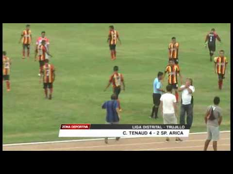 Liga de Trujillo: Carlos Tenaud 4 - 2 Sport Arica