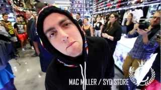 Mac Miller At Culture Kings Sydney