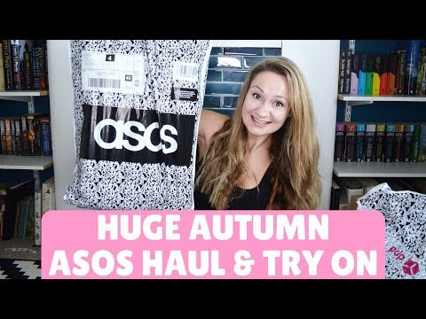 HUGE ASOS HAUL & TRY ON AUTUMN 2018 | TRANSITIONAL FASHION FT MONKI, BERSHKA NEW LOOK | OH HI DIY!