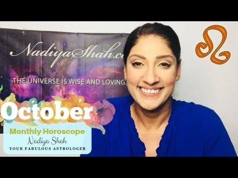 nadiya shah monthly horoscope leo