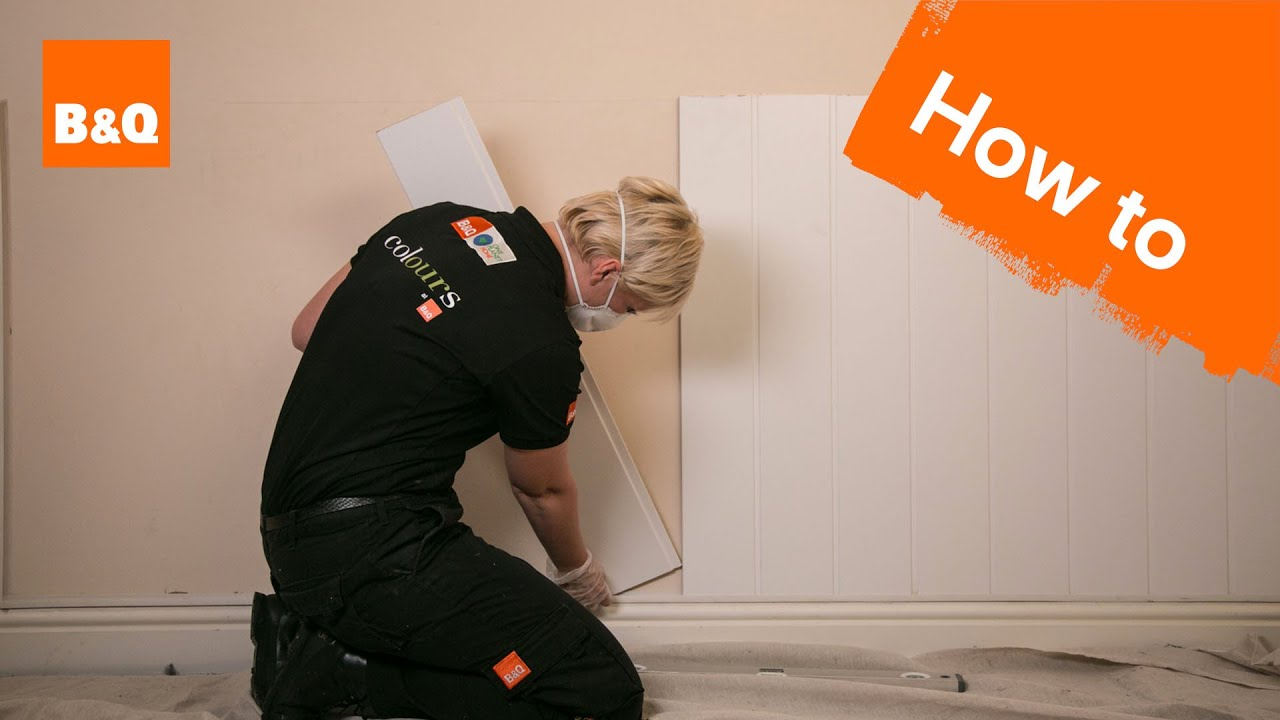 B&q Kitchen Design Jobs How To Fit Internal Cladding Youtube