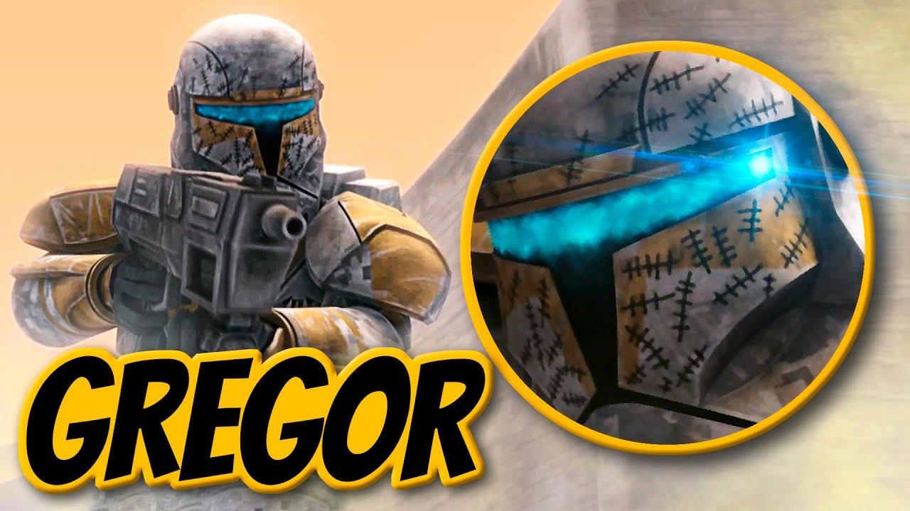 Was bedeuten die Markierungen an Gregors Helm? - Star Wars