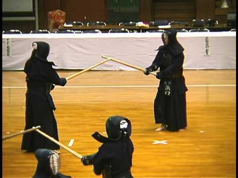 日本が誇る運動芸術 剣道  林邦夫範士八段(愛知)の妙技 「突・小手・胴 」」