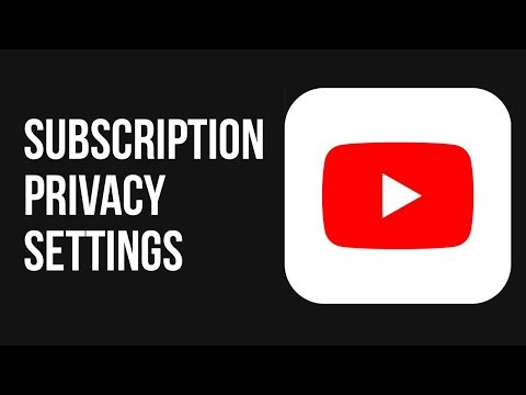 How To Change Your Subscription Privacy Settings On YouTube App | Mobile