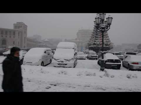 For those asking whether it was cold or not in Yerevan
