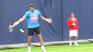 Juan Martin del Potro Hitting Things Very Very Hard (Queens 2011)