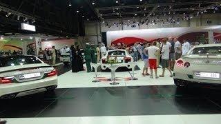 More Dubai Police Cars - SL63 AMG, R8 V10, R35 GT-R - Dubai International Motor Show 2013!!