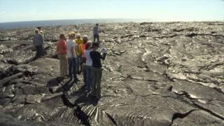 Lava field is backyard laboratory for Hilo students