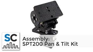 #SPT200H SPT200 Pan & Tilt System & DDT500 Direct Drive Tilt Assembly (Full Instructions)