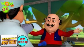 Johns Eye Checkup Camp - Motu Patlu in Hindi - 3D Animation Cartoon for Kids -As seen on Nick