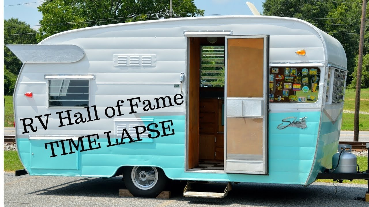 Time Lapse Of The Rv Hall Of Fame In Elkhart Indiana Full Time Rv