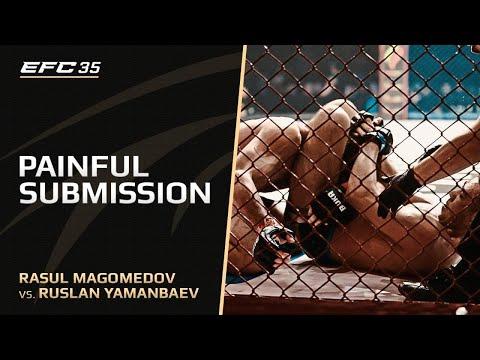 Новый чемпион! |  Расул Магомедов vs Руслан Яманбаев на EFC 35