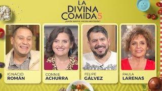 La Divina Comida - Ignacio Román, Connie Achurra, Paula Larenas y Doctor Pichangas