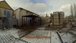 видео Производство блоков монтажных
