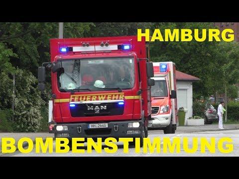 [BOMBENSTIMMUNG IN HAMBURG] GROSSER KAMPFMITTEINSATZ IN HAMBURG HARBURG