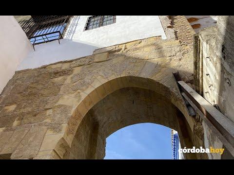 Así ha quedado el Arco del Portillo y el recuperado camino de Ronda