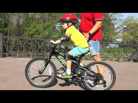 VLOG Рома катается на новом велосипеде PRIDE JOHNNY