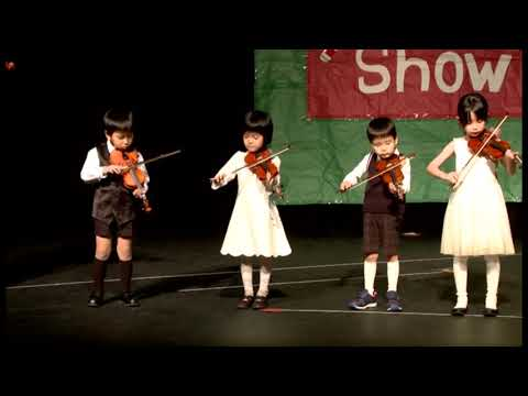 Greenwich Kokusai Gakuen Holiday Show 2016 Violin by Rocky Road