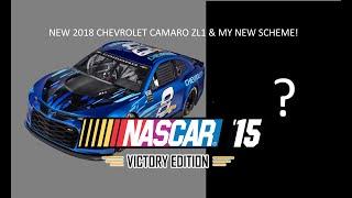 CHEVROLET CAMARO ZL1 & MY NEW SCHEME ! | Nascar '15 Victory Edition