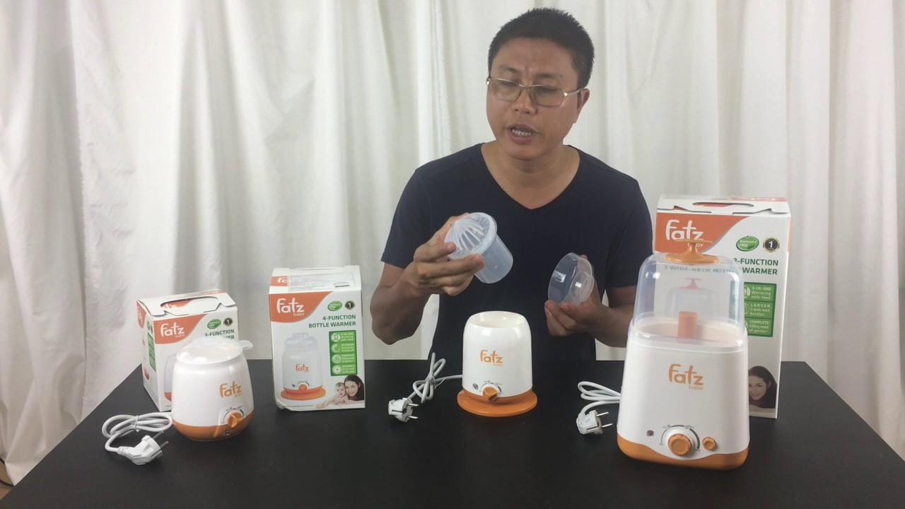 Cách chọn mua máy hâm sữa Fatzbaby