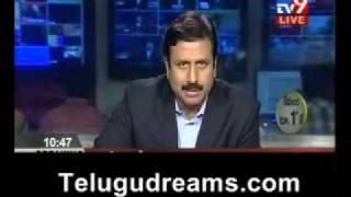 ravi prakash breaking ysr death