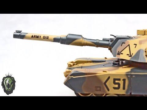 1/24 M1A2 Abrams RC Battle Tank