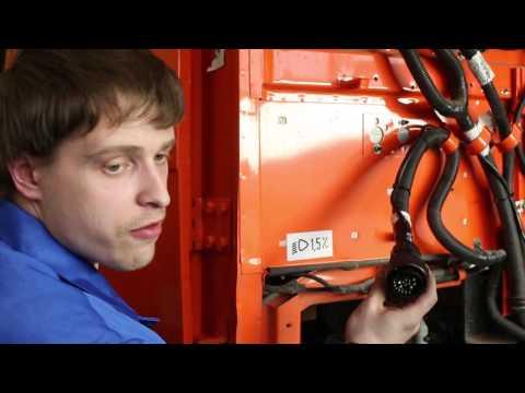 Установка оригинальной светодиодной фары на КАМАЗ