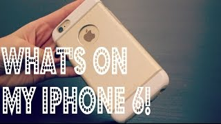 What's on my iPhone 6! + Editing my Instagram Photos Thumbnail
