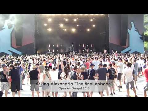 Asking Alexandria - The Final Episode (Live) [Tribute Denis Shavorostov]