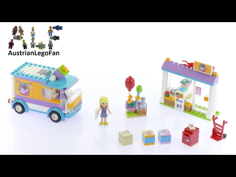 Lego Friends 41310 Heartlake Gift Delivery - Lego Speed Build Review