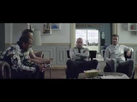 Download Pub Adidas Football : House Match avec Beckham, Zidane, Bale et Lucas