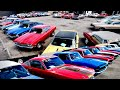 Classic Car Lot Full Walk American Muscle 5/30/20 Hot Rods Maple Motors