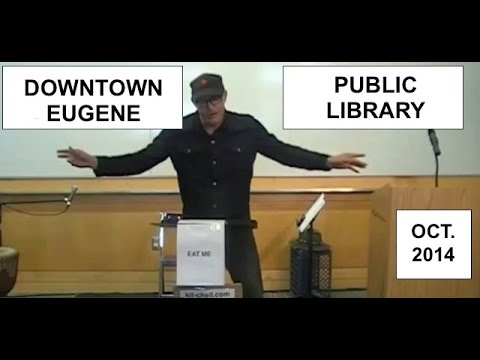 Kit Chell Poetry Performance Eugene Downtown Public Library - October 2014