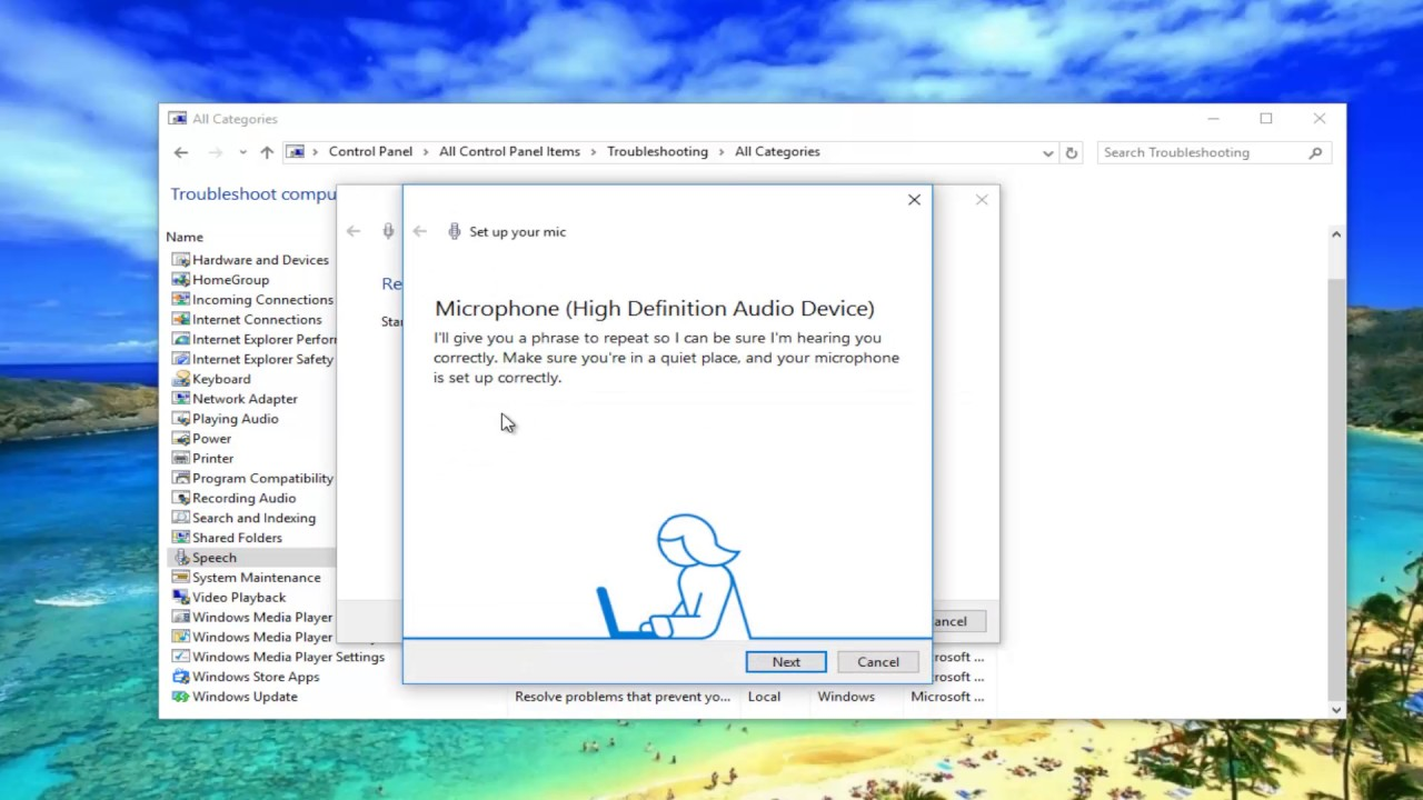 How To Troubleshoot Speech In Windows 10