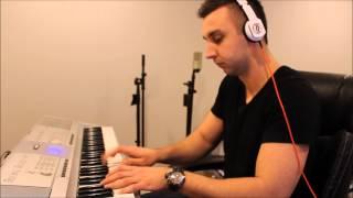 Tiesto Red Lights Piano Cover