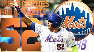 Yoenis Cespedes | New York Mets | 2016 Highlights Mix ᴴᴰ