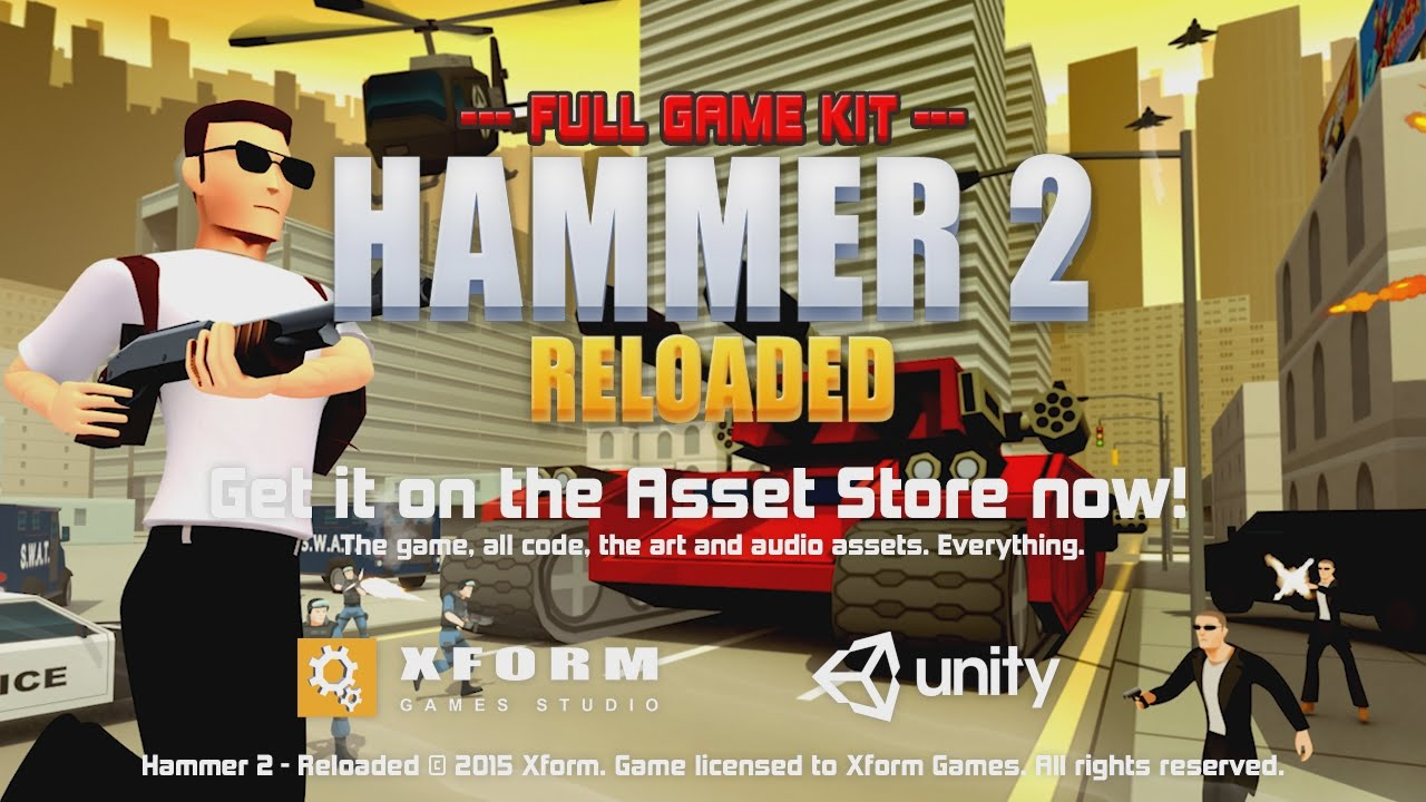 Hammer 2 - Get it on the Asset Store