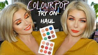 Does My Makeup Look Awful Off Camera? | Colourpop Try On Haul
