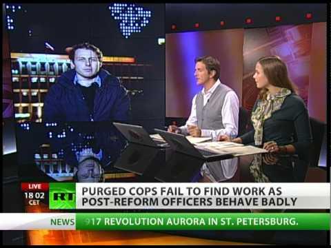 11 000 jobless ex-policemen in Russia