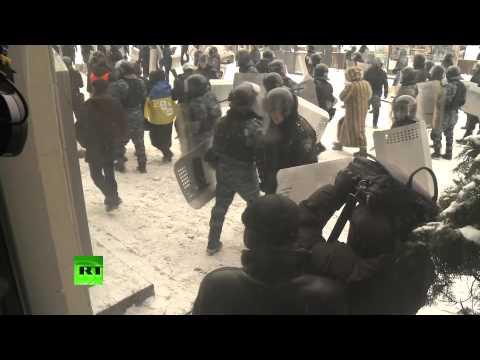 Украинской милиции удалось