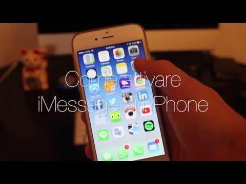 Come attivare iMessage su iPhone e iPad