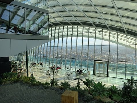 Sky Garden London 20 Fenchurch Street Walkie Talkie Tour