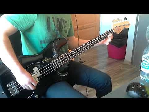 Heavy Young Heathens - Being evil has a price bass cover (tab in description)