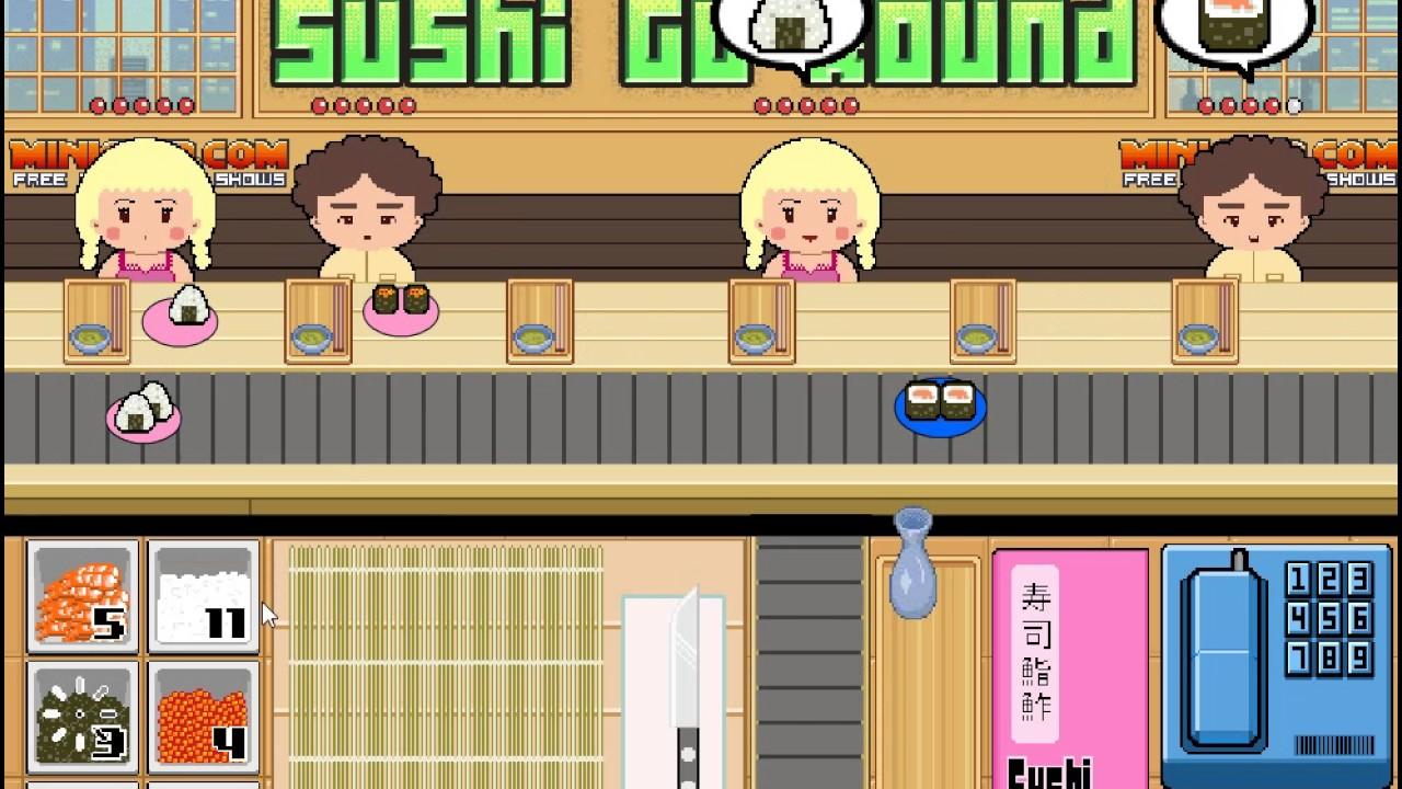 網頁遊戲實況_迴轉壽司 - YouTube