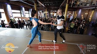 Alegria Dance Company - Salsa Workshop | Salsa Sunrise Party 2019