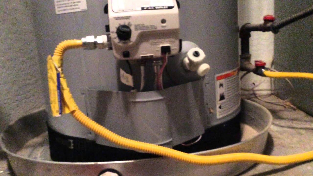 Whirlpool hot water heater hook up