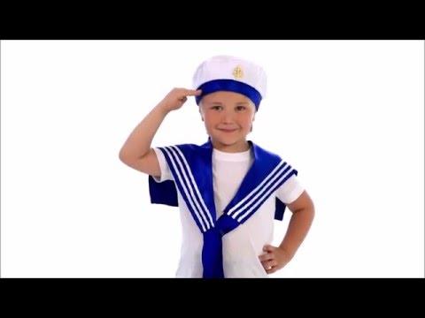 Карнавальный костюм моряка для мальчика