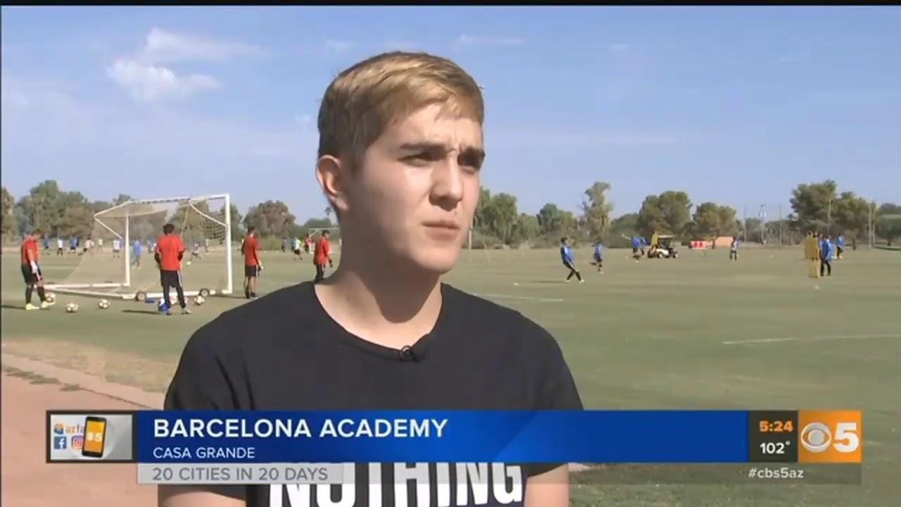 Fc Barcelona Soccer Academy Casa Grande Az Youtube
