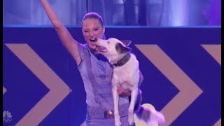 Sara u0026 Hero: Simon Cowell's FAVORITE Dog Act Of ALL Times | The Finale | America's Got Talent 2017