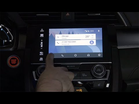 2018 Honda Civic Tips & Tricks: How to Use Android Auto